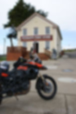 Stewarts Point Store is often a rally point for riders