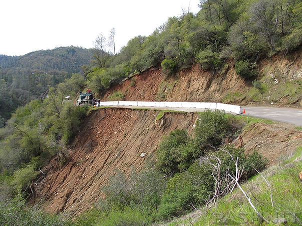 Road Repairs on Pleasant Valley Rd