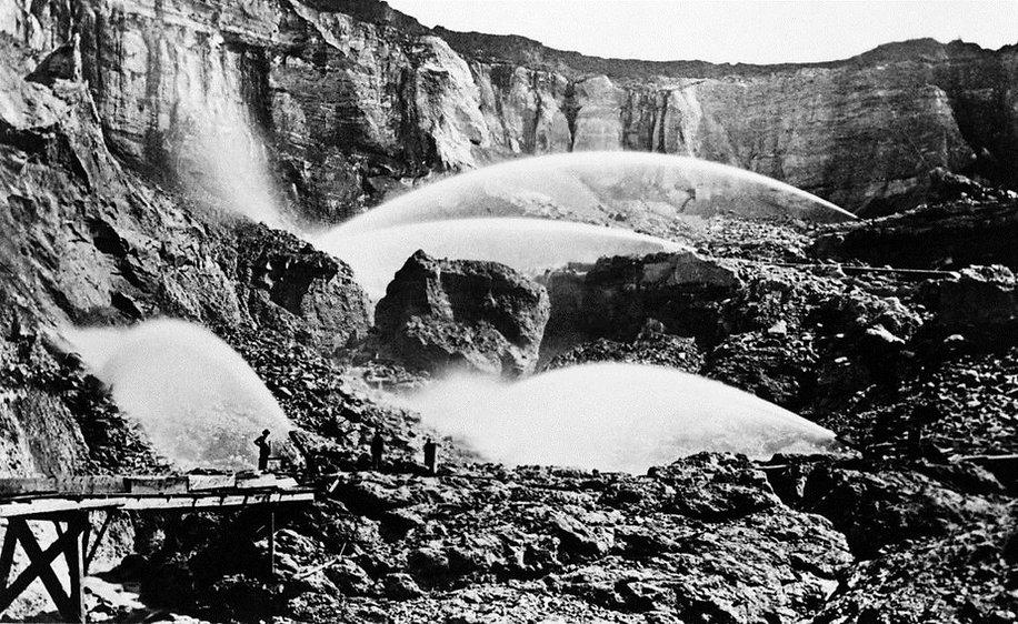 Hydraulic Mining at Malakoff Diggins