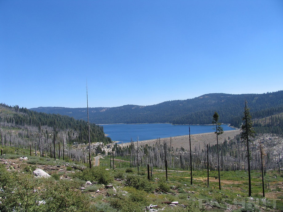 French Meadows Reservoir, Sierra Nevada Mountains, California