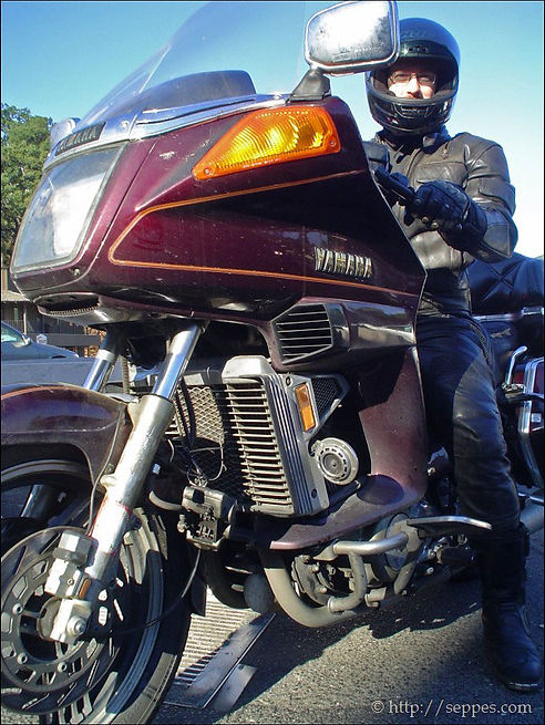 Pashnit Author Tim Mayhew on his Yamaha Ventureh