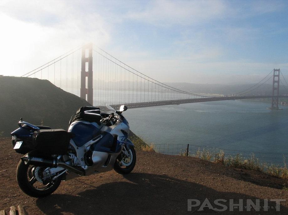 Marin Headlands overlooking Golden Gate Bridge