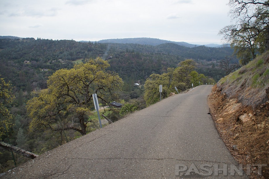 Bayne Rd is a single-lane paved connector between Kelsey and Coloma