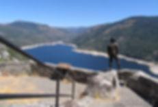 Hell Hole Reservoir, Sierra Nevada Mountains, California