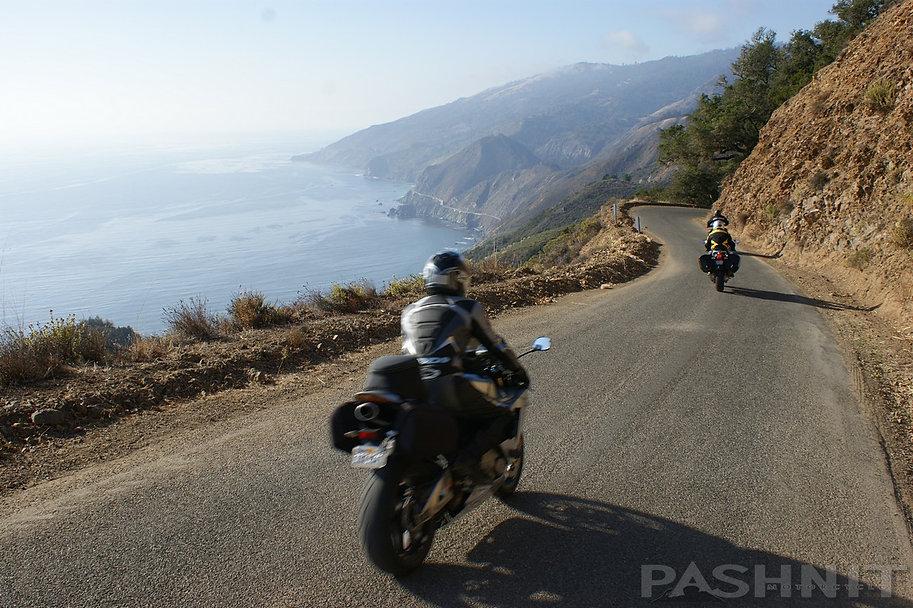 Nacimiento Rd view of Highway 1 California Big Sur Coast | Pashnit