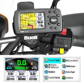 Buell XB12X Quest Navigation System