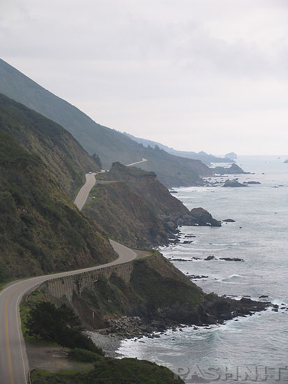 Highway 1 California Big Sur Pacific Coastline | Pashnit Roads