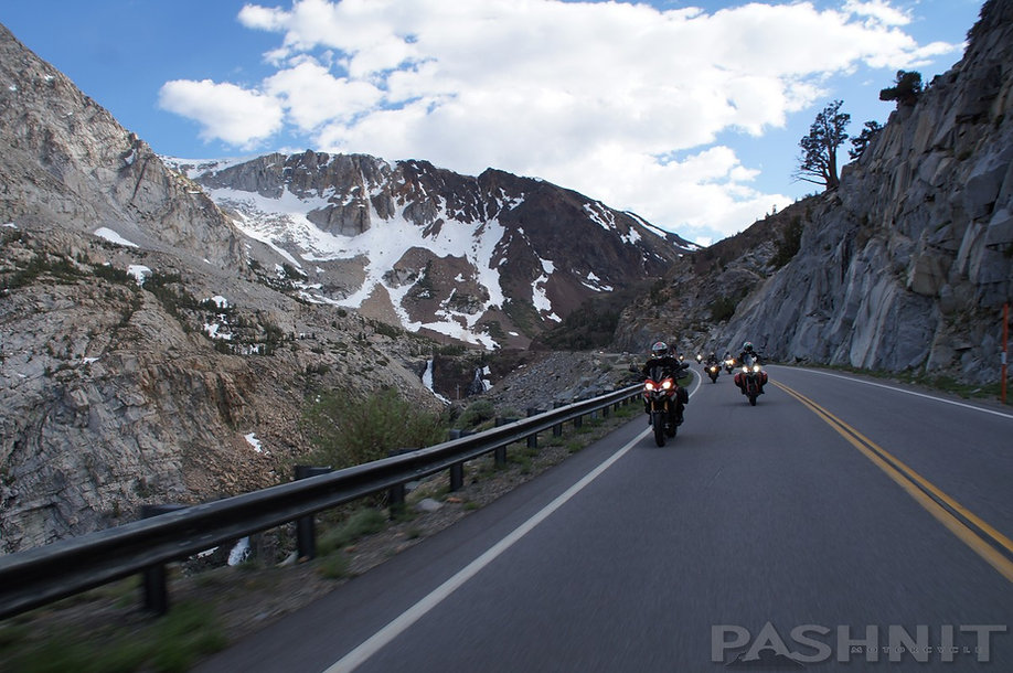 Highway 120 Tioga Pass