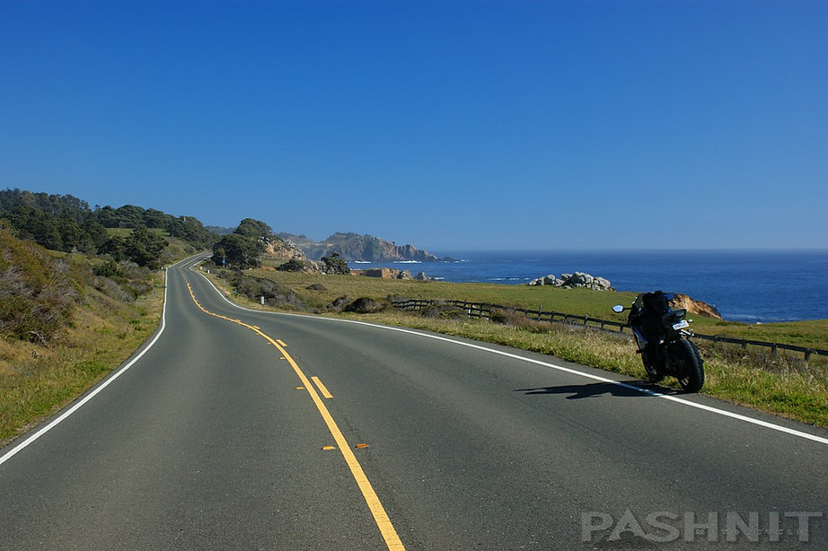 Highway 1 south of Stewarts Point