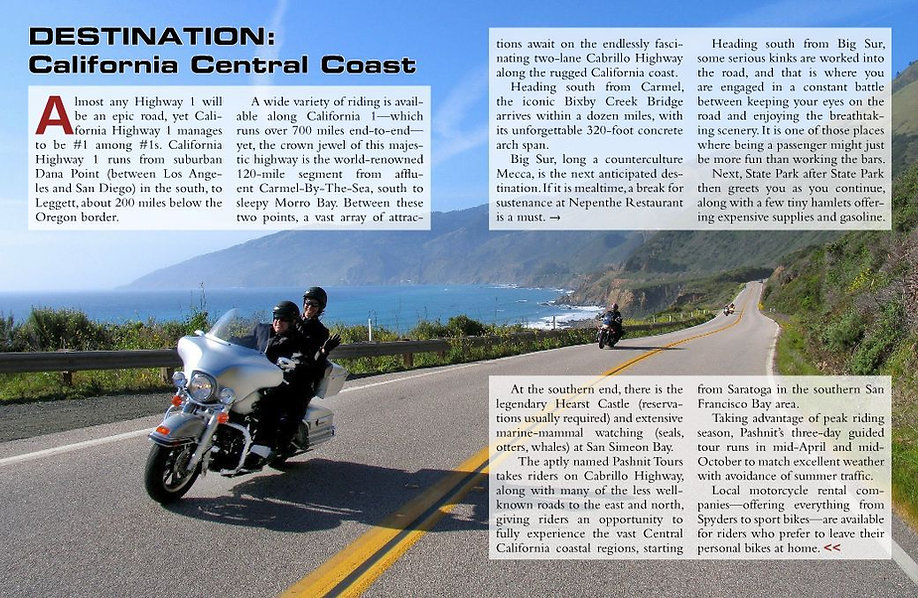 Pashnit in Ultimate Motorcycling Magazine