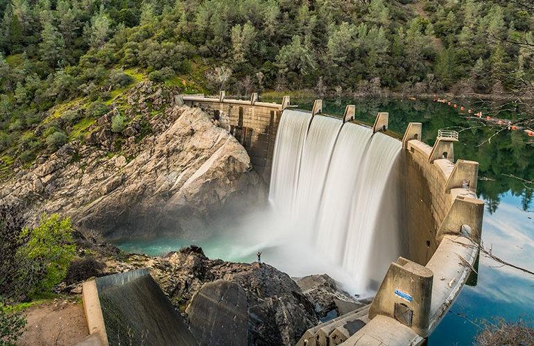 Lake Clementine Dam, Auburn, Calfornia