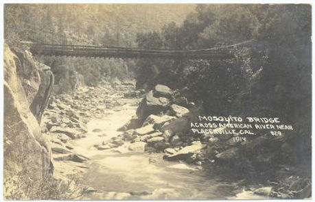Mosquito Bridge 1914 Photo