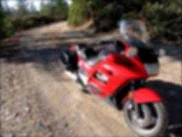 Honda ST1100 motorcycle
