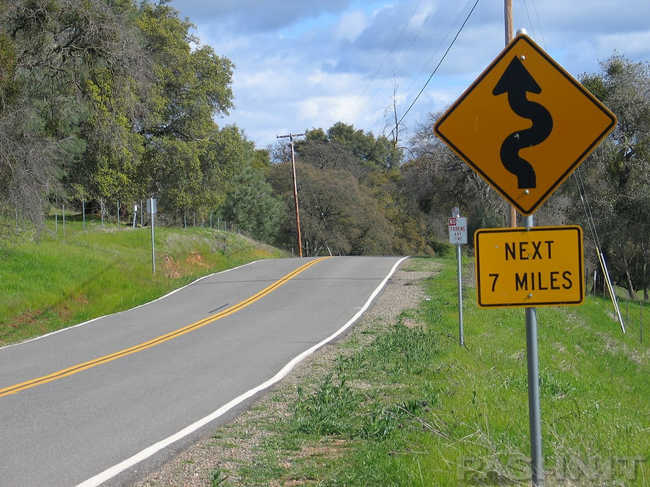 Stony Creek Rd, Amador County, California Motorcycle Roads