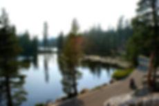 Highway 4 Ebbetts Pass along Mosquito Lake