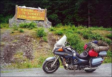 Yamaha Venture in Alaska