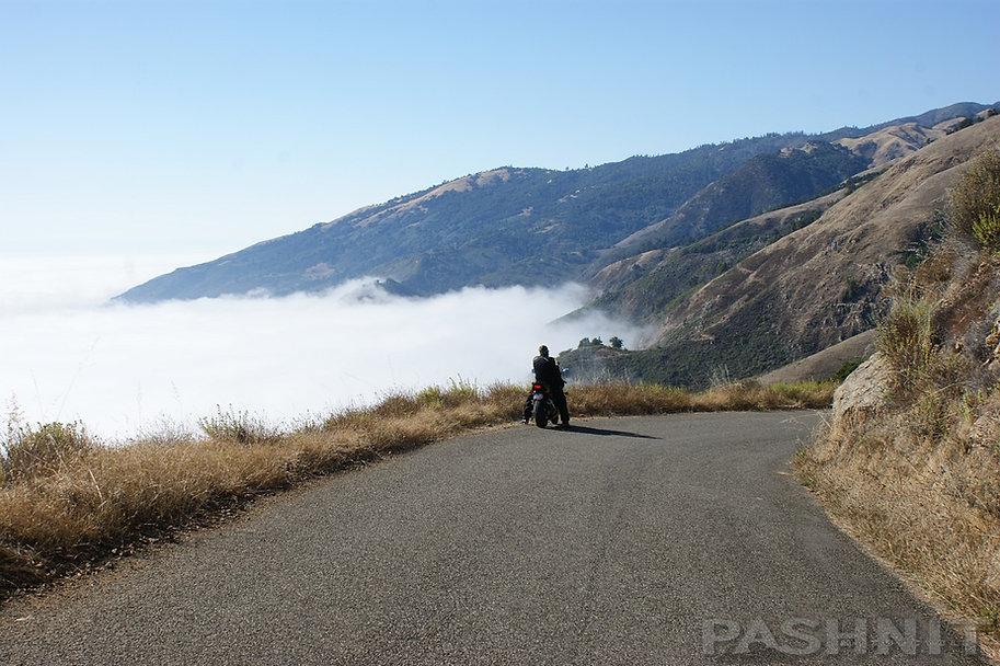 Nacimiento Road overlooking Pacific Ocean | Pashnit.com