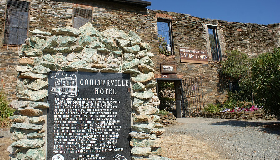 Coulterville Hotel, 1882 | Pashnit.com