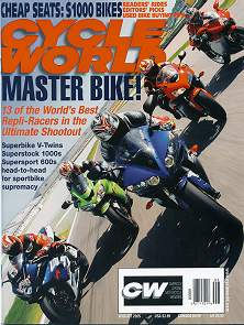 Pashnit Photography in Cycle World Magazine