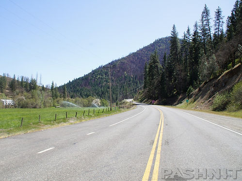 Highway 3 Hayfork Pass, California