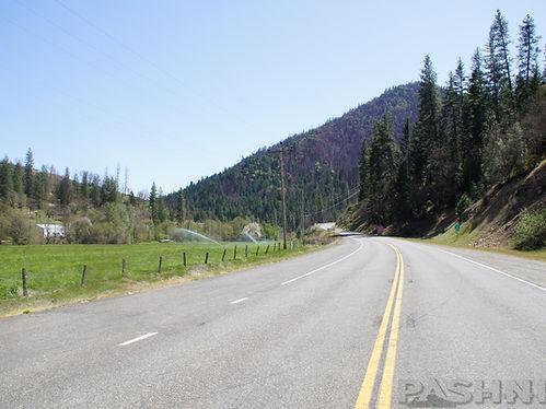 Highway 3 Hayfork Pass, California