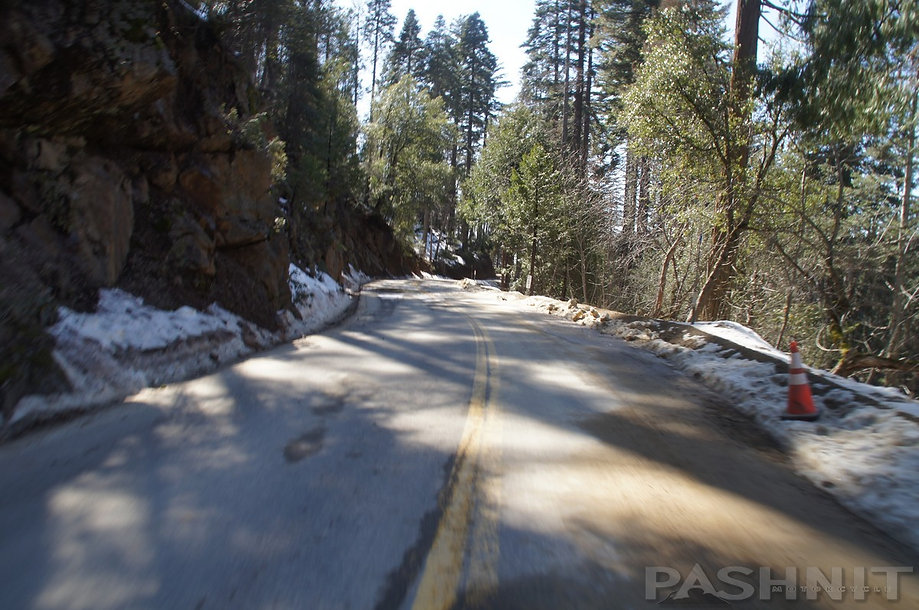 Higher elevations of Highway 245 may get snow in winter