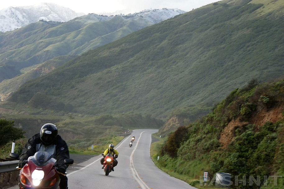 Highway 1 Big Sur Coast Santa Lucia Range | Pashnit