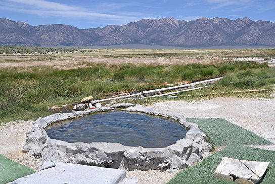 Many hot springs along this ride - Hilltop Hot Spring by Eekster