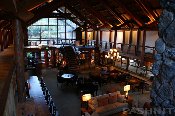 Inside the Timber Cove Lodge