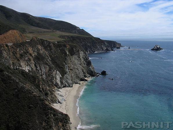 California Big Sur Coastline Highway 1