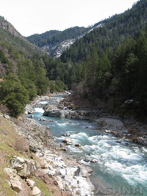 Highway 49 parallels the Yuba River