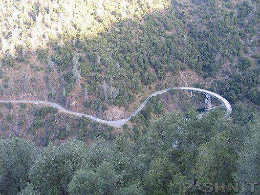 Circle Bridge, Mosquito Ridge Road, Foresthill, California