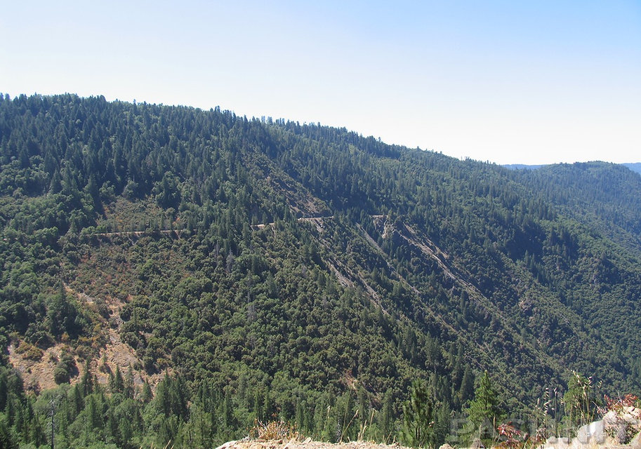 Mosquito Ridge Road, near Foresthill, California
