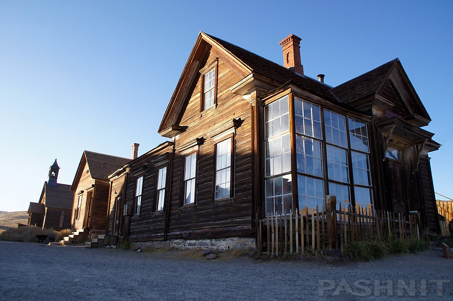JS Cain House in Bodie State Historic Park