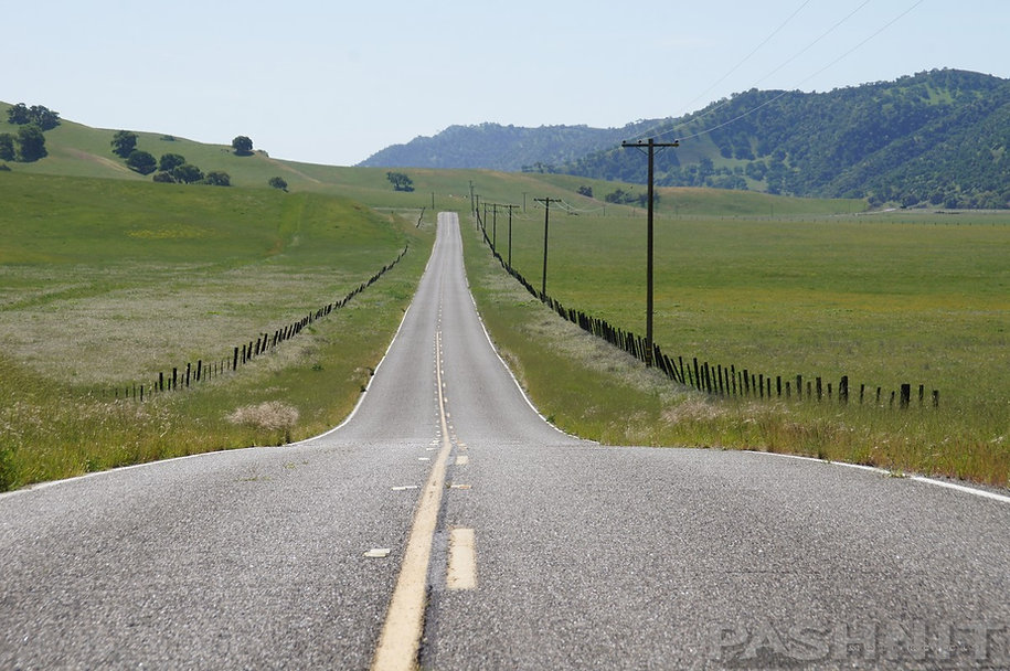 Highway 25, San Benito County, California