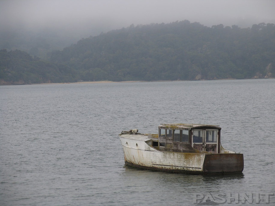 Boat in Tomales Bay