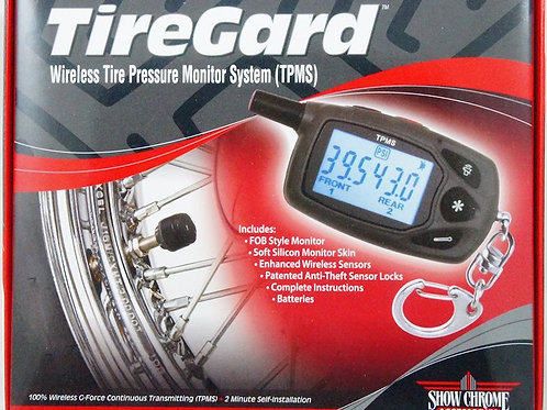 TireGard WIRELESS TIRE PRESSURE MONITOR 13-315U