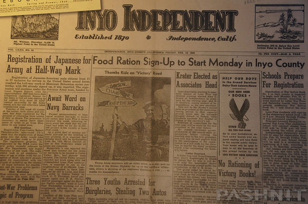 Inyo Independent Newspaper: Japanese allowed to enlist