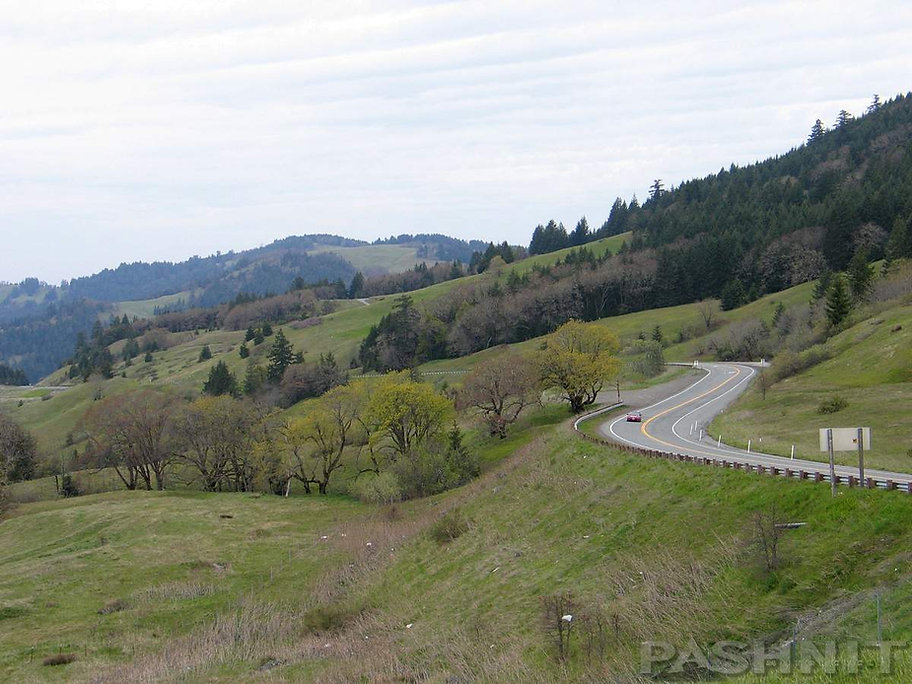 Highway 299 in Humboldt County, CA