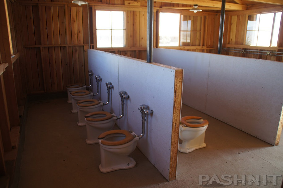 Women's Latrine at Manzanar