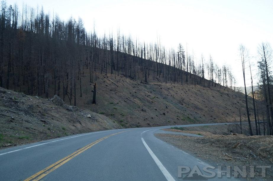August Complex Fire Highway 36