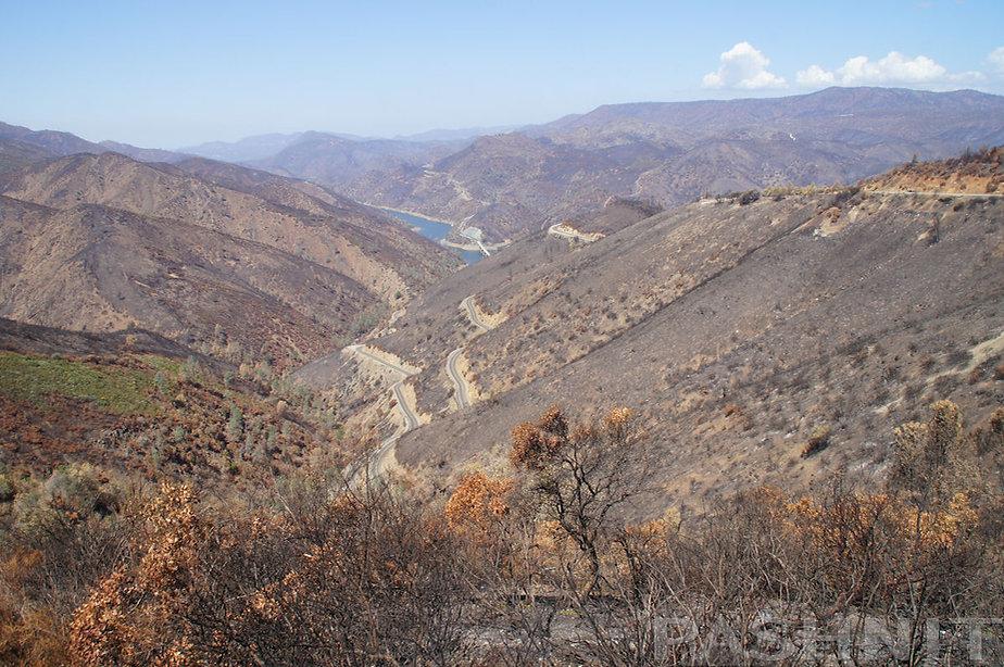 Detwiller Fire on Highway 49 - The Little Dragon | Pashnit.com