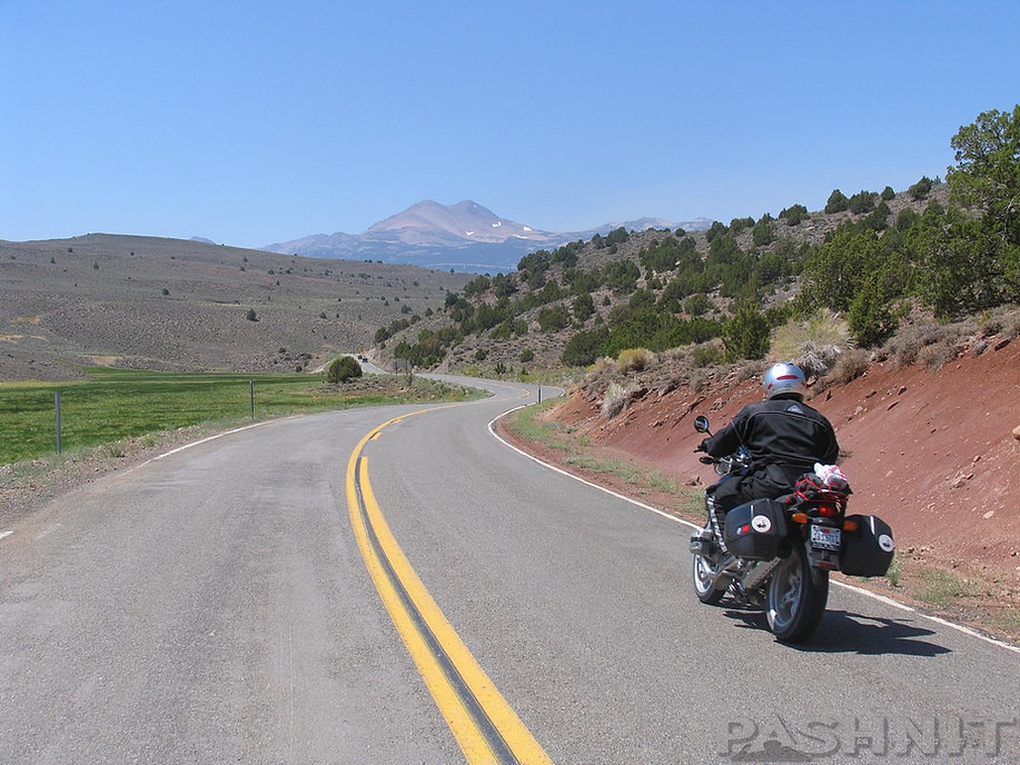Highway 270 at Bodie State Historical Park