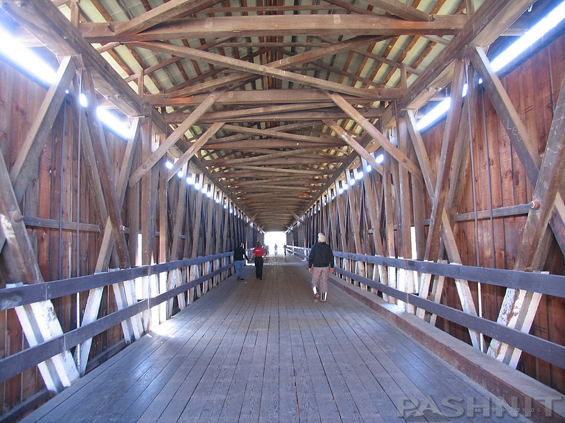 Knights Ferry Covered Bridge