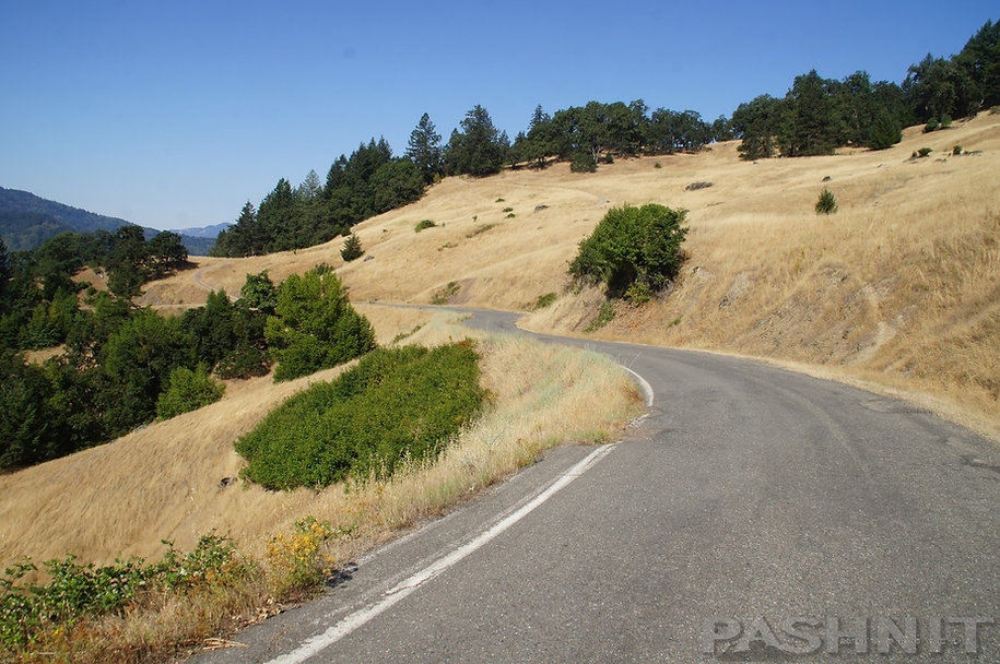 Zenia Bluff Rd - Trinity County - California