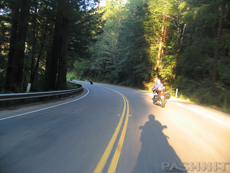 Motorcycle Ride Humboldt County Roads