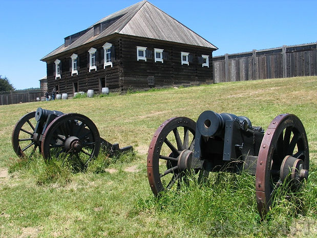 Cannon at Fort Ross State Historic Park
