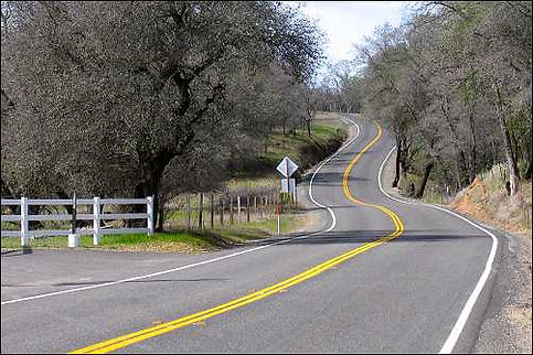 Highway 36 Curves California Pashnit Motorcycle Roads