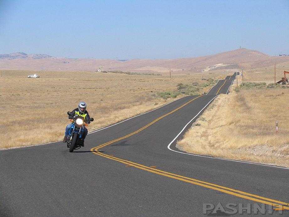 Highway 58 nearing McKittrick, California