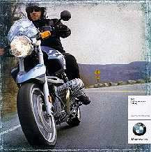 Pashnit featured in BMW Motorcycle Catalog
